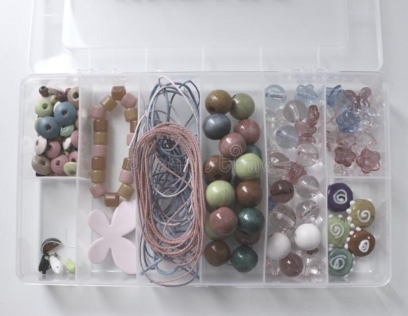Satz Perlen stockbild
