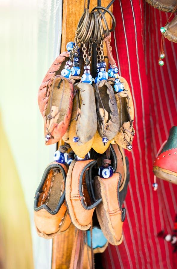 Satz traditionelle handgemachte Schuhe lizenzfreies stockfoto