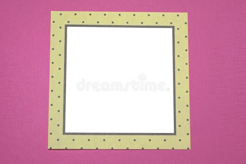 Satz Weißbuchaufkleber auf weißem Hintergrund Runde, Quadrat, rechteckig Abbildung lizenzfreie stockfotografie