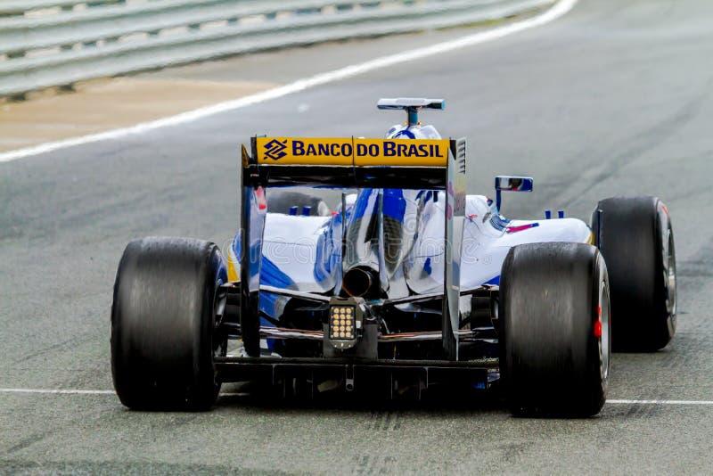 Sauber MotorSport F1 Team, Felipe Nasr, 2015 royalty free stock photo