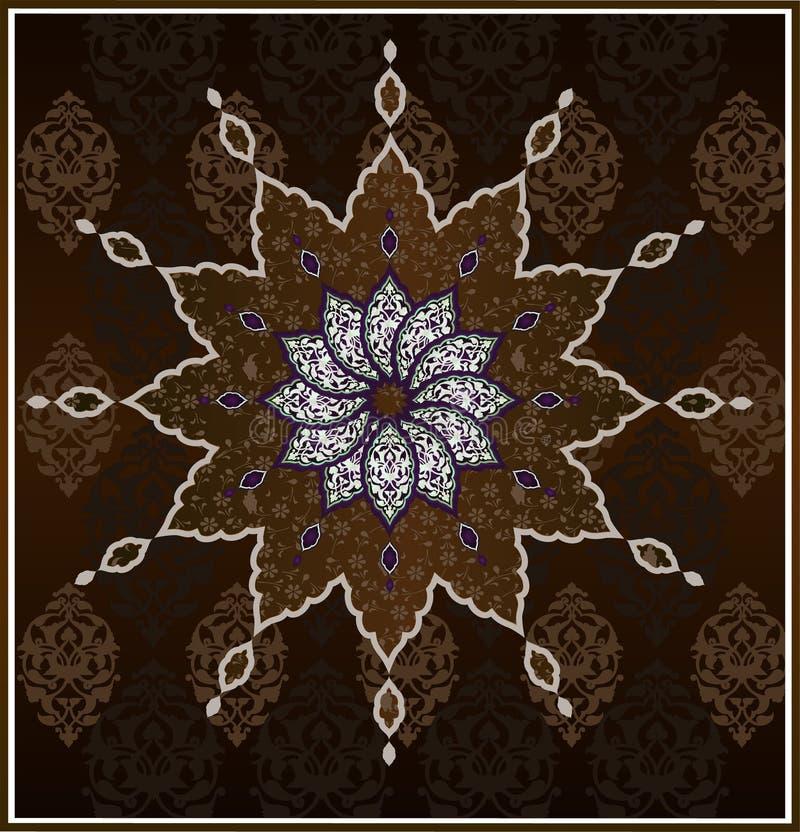 Download Saubere Auslegung Der Traditionellen Osmane Vektor Abbildung - Illustration von verzierung, islamisch: 9089180