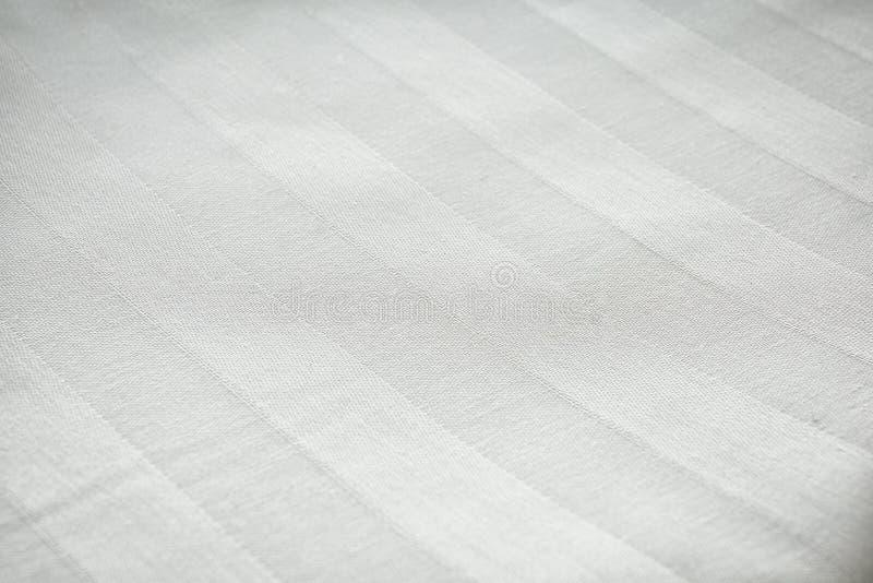 Saubere Bettlaken, Nahaufnahme lizenzfreie stockfotos