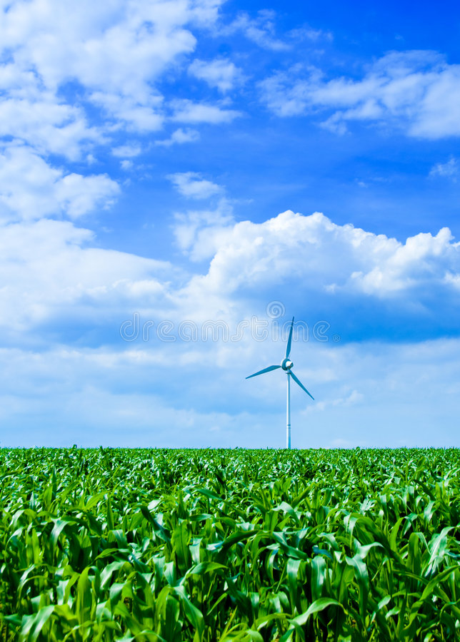 Saubere Energie lizenzfreie stockbilder