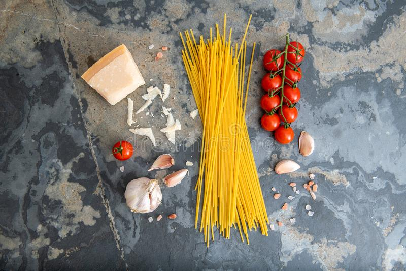 Saubere Essenauswahl des gesunden Lebensmittels lizenzfreies stockbild