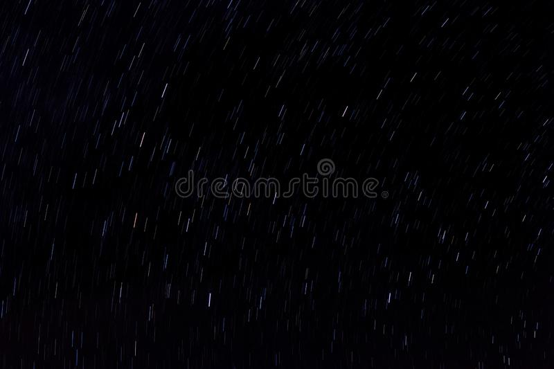 Saubere spinnende Stern-Spuren lizenzfreie stockfotos