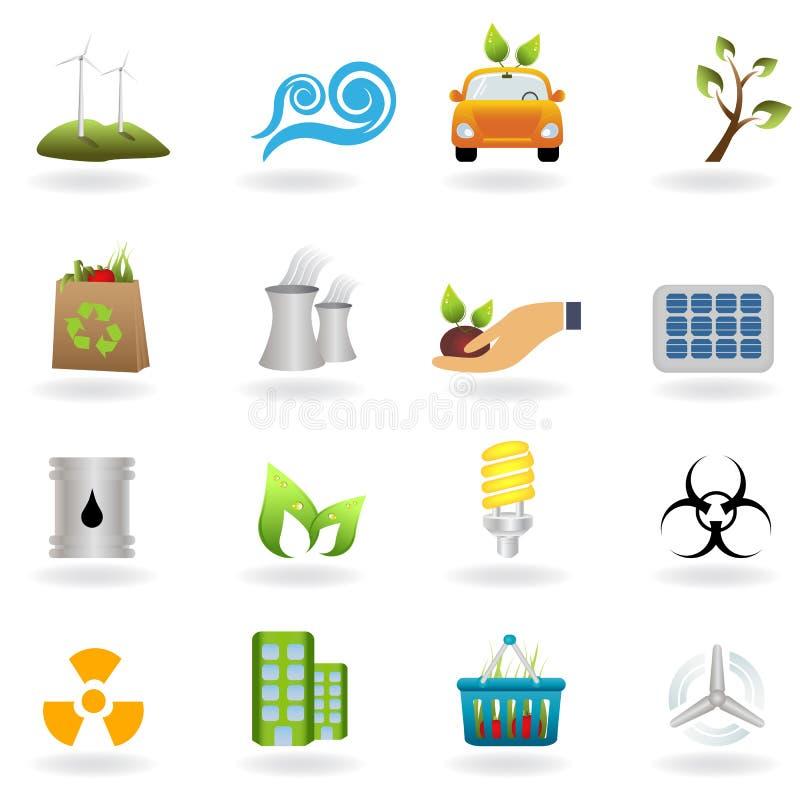 Saubere und alternative Energie lizenzfreie abbildung
