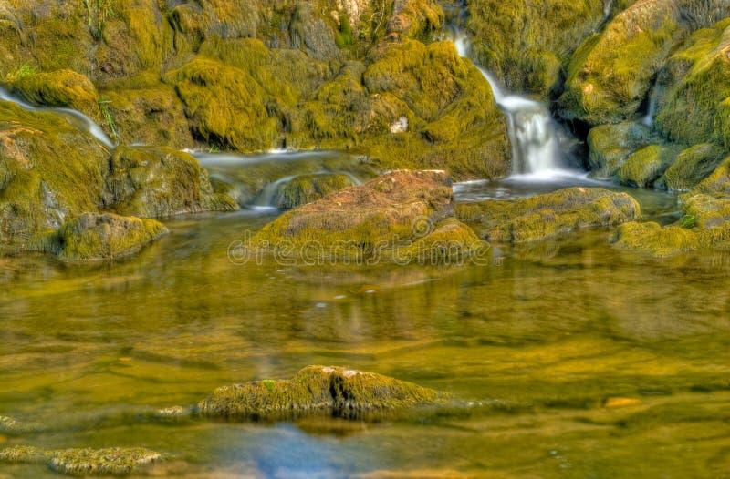 Sauble Falls detail royalty free stock photos