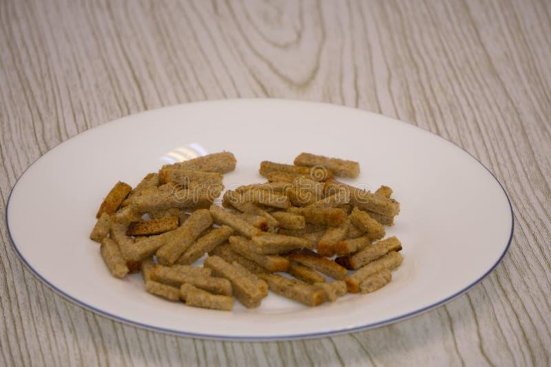 Sauce au jus croustillante de biscuits de biscuits de biscotte de g?teau de biscotte image libre de droits
