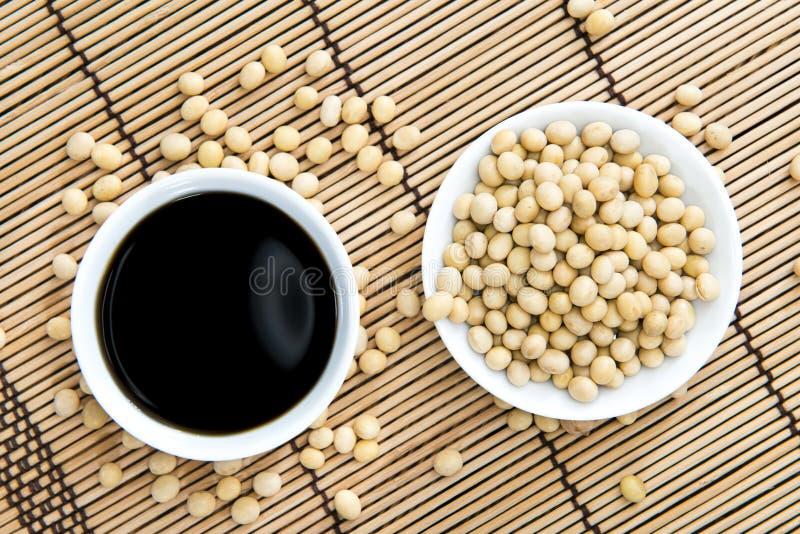 Sauce de soja images stock