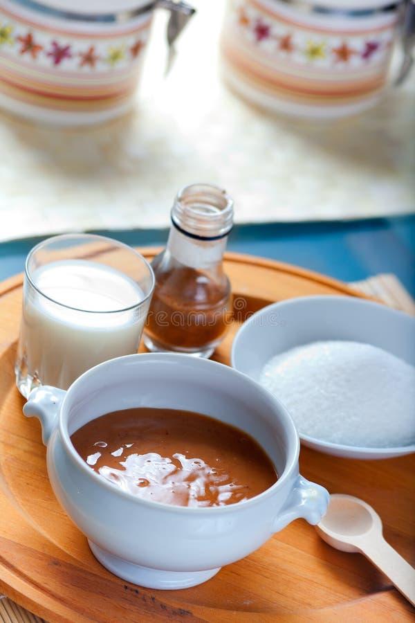 Sauce mexicaine à caramel de Cajeta photos stock
