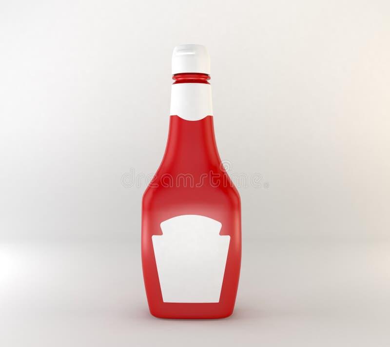 Sauce tomate faite maison illustration stock