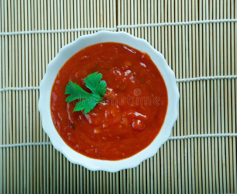 Download Sauce tomate koweitienne image stock. Image du herbe - 77153649