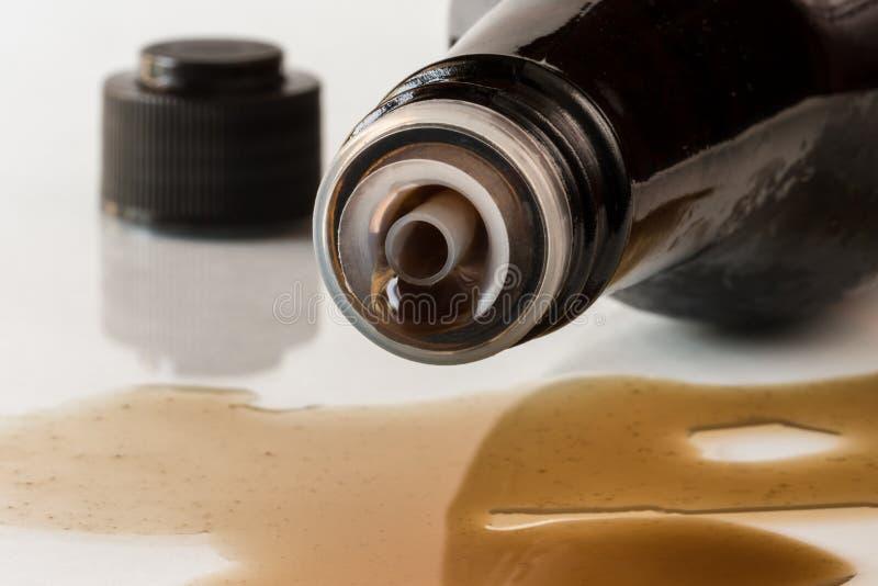 Sauce Worcestershire photo libre de droits