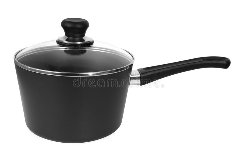 Saucepan stock image