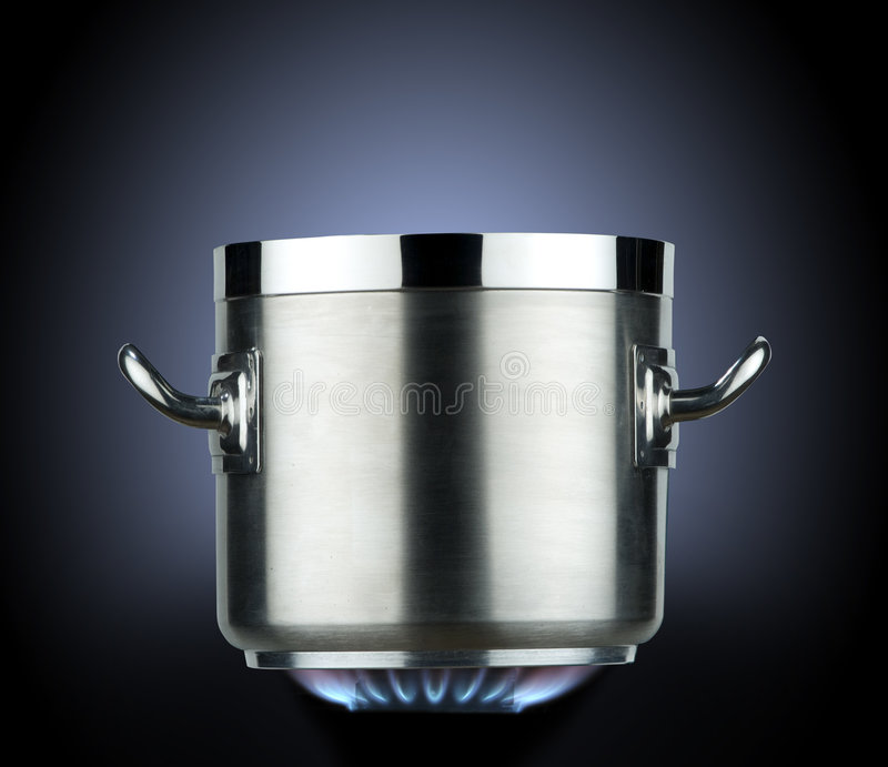 Saucepan royalty free stock photo