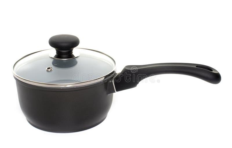Saucepan in studio royalty free stock images