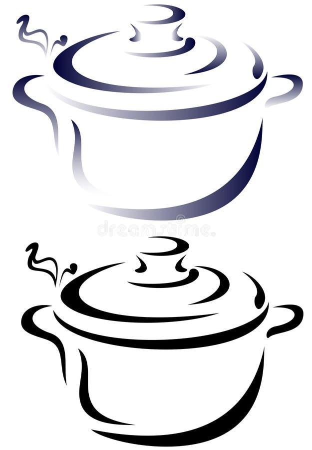 Saucepan vector stock illustration