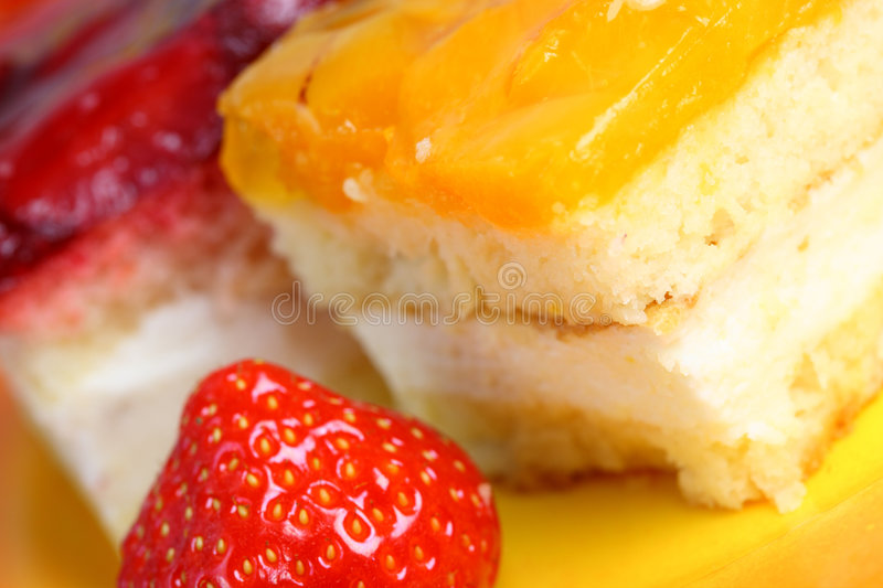 Download Saucer Of Cake. Stock Photography - Image: 7118972