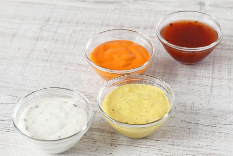 sauces images libres de droits