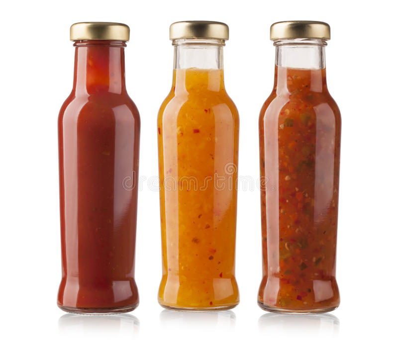 Sauces barbecue photos stock