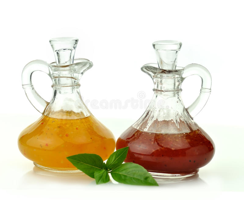 Sauces salade image stock
