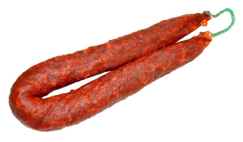 Saucisse de chorizo images stock