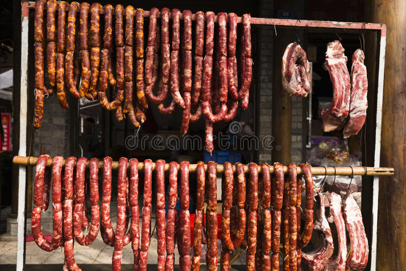 Saucisses photos stock