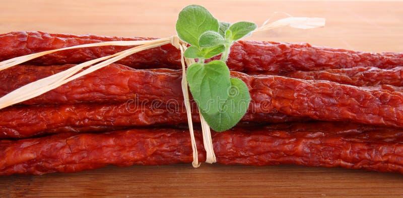 Download Saucisses image stock. Image du boeuf, detail, manger - 8659033