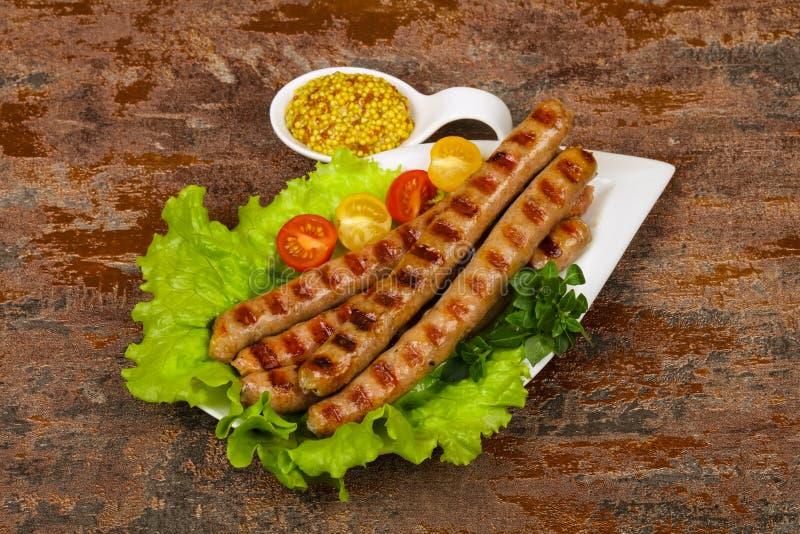 Saucisses de proc grill?es photos libres de droits