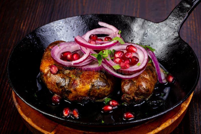 Saucisses rôties de porc photo stock