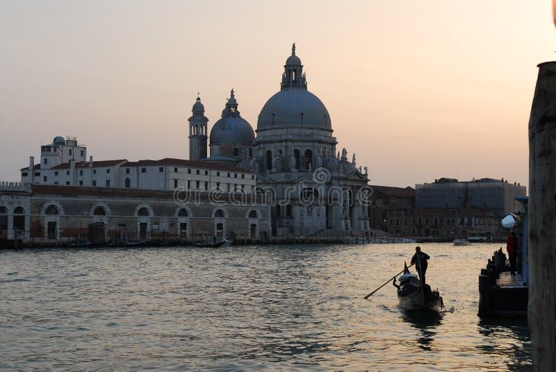Saudação de Santa Maria Della, Veneza imagem de stock