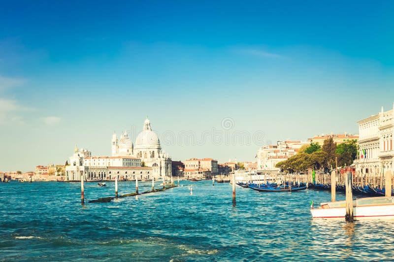 Sauda??o do della de Santa Maria da bas?lica, Veneza, Italia fotos de stock