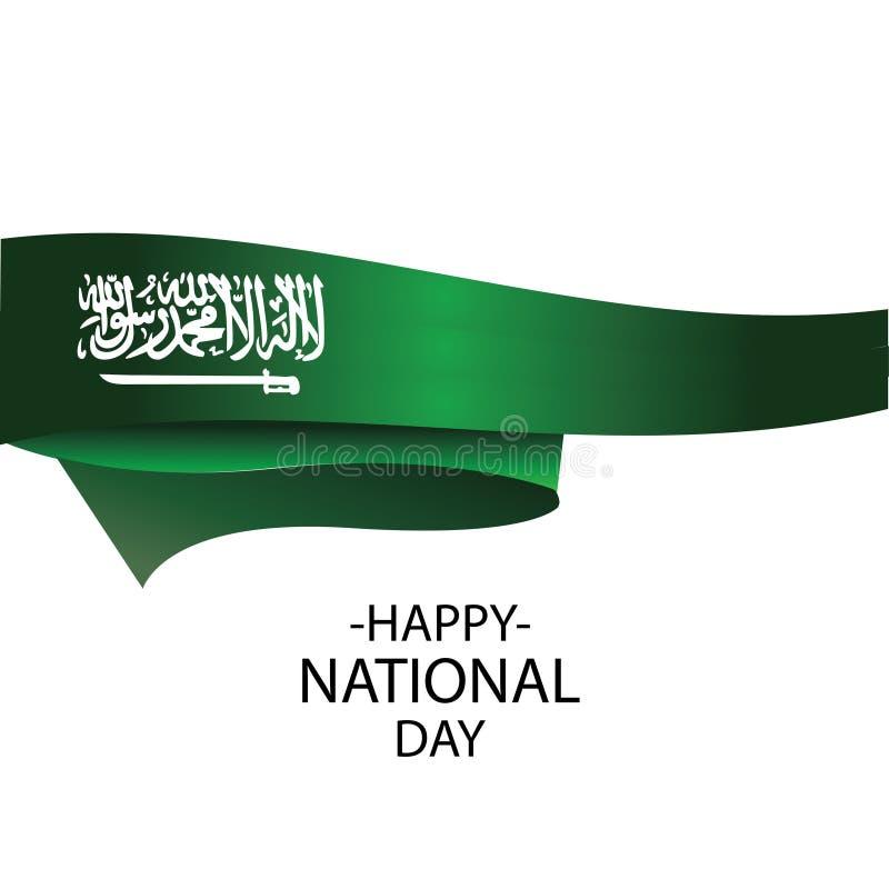 Saudi-Arabien Unabh?ngigkeitstag lizenzfreie abbildung