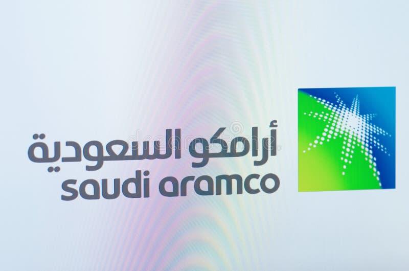 Saudi Aramco fotografía de archivo libre de regalías