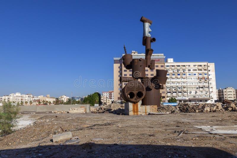 Saudyjczyk, Jeddah 2 2018 Grudzień Stary miasto w Jeddah, Stary miasto w Jeddah, Arabia Saudyjska znać jak «Dziejowy Jeddah « Uli zdjęcie royalty free