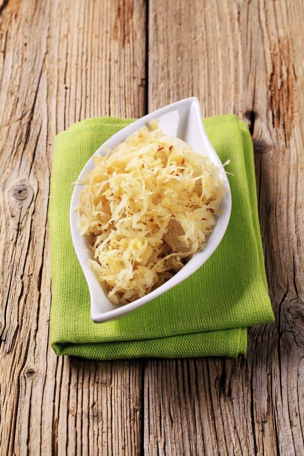 sauerkraut шара стоковая фотография rf