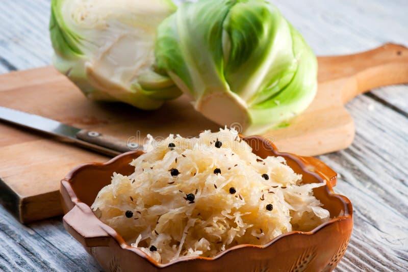 Sauerkraut zdjęcie stock