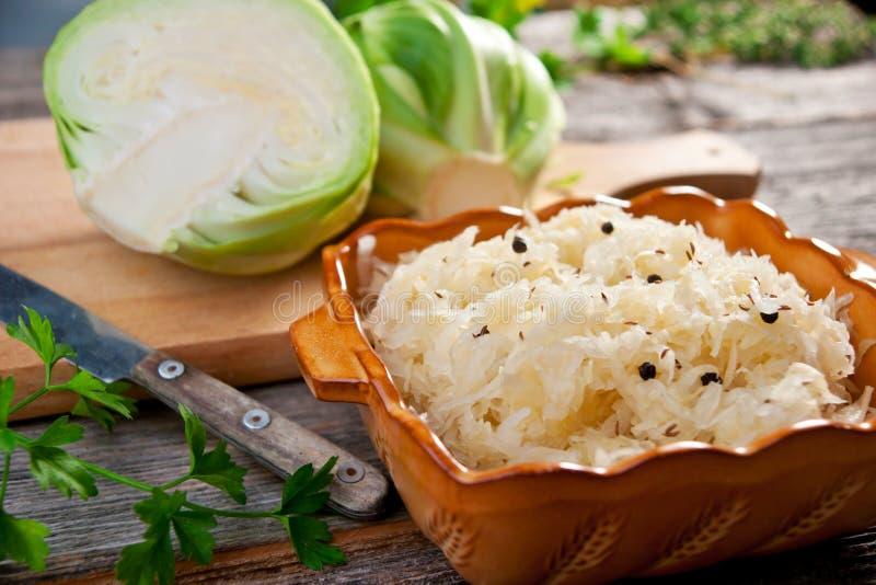 Sauerkraut zdjęcie royalty free