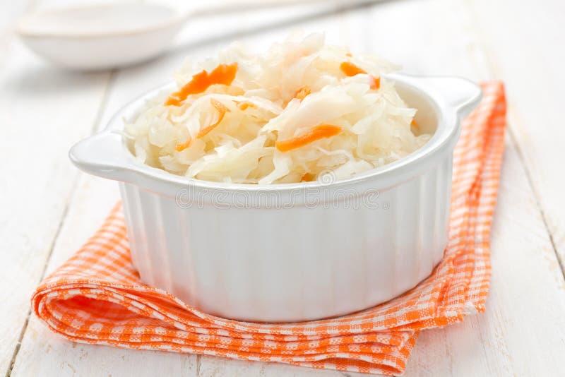 Download Sauerkraut stock image. Image of gourmet, laying, closeup - 27777909