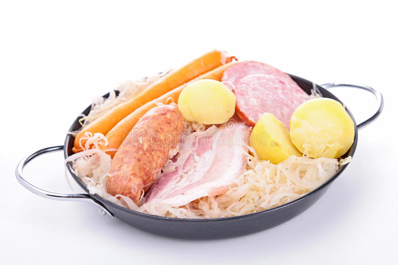 Download Sauerkraut stock image. Image of dinner, cooked, tradition - 27823841