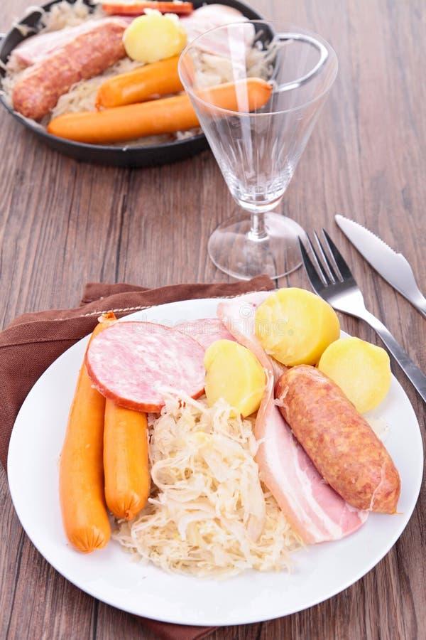 Download Sauerkraut stock image. Image of tradition, food, dinner - 27823927