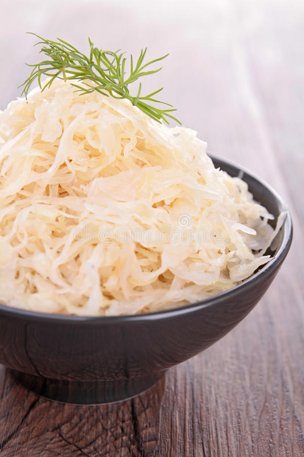 Download Sauerkraut stock image. Image of white, healthy, cabbage - 27824013