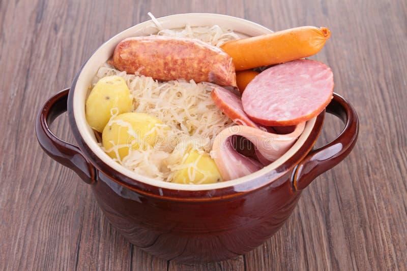 Sauerkraut royaltyfri bild