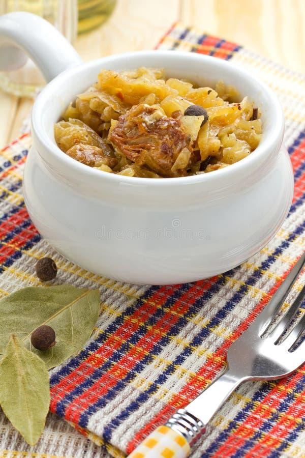 Download Sauerkraut stock image. Image of home, bowl, cole, diet - 27866413