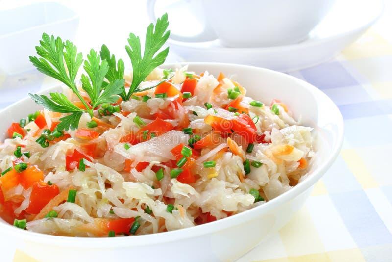 Download Sauerkraut salad stock image. Image of sauerkraut, healthy - 26589455