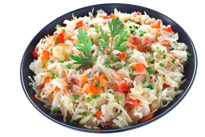 Download Sauerkraut salad stock image. Image of bowl, vitamin - 26589677
