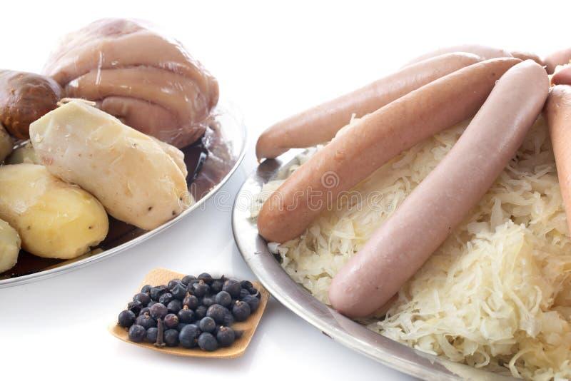 Sauerkraut lizenzfreie stockfotografie