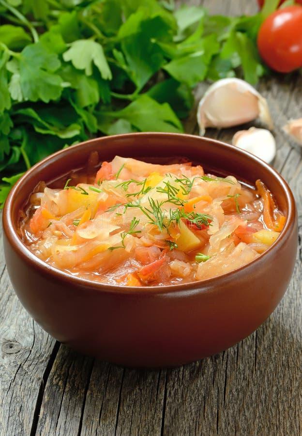 Sauerkrautsuppe stockfotografie