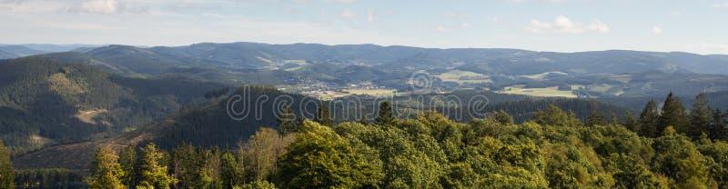Sauerland krajobraz Germany obrazy stock