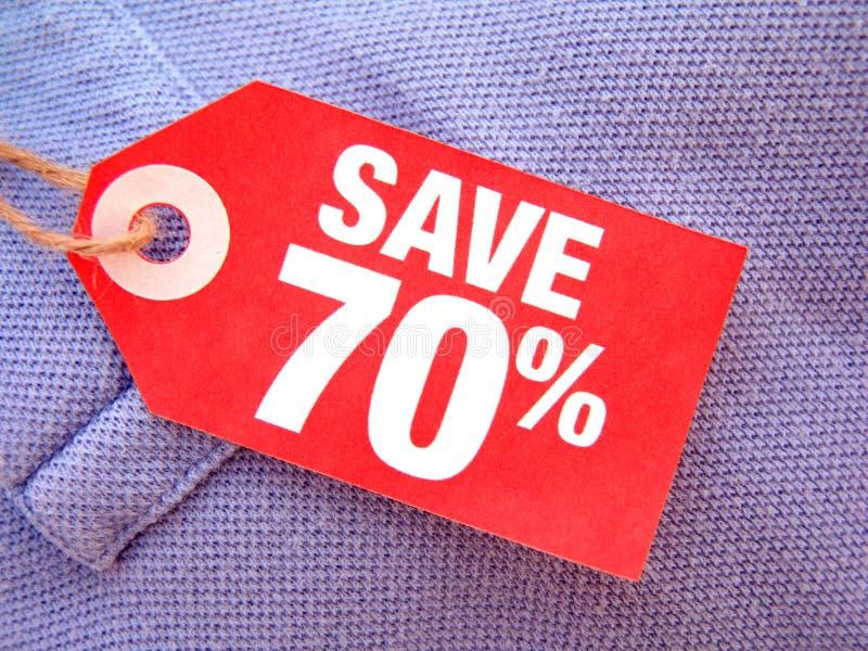 Sauf 70% photo libre de droits